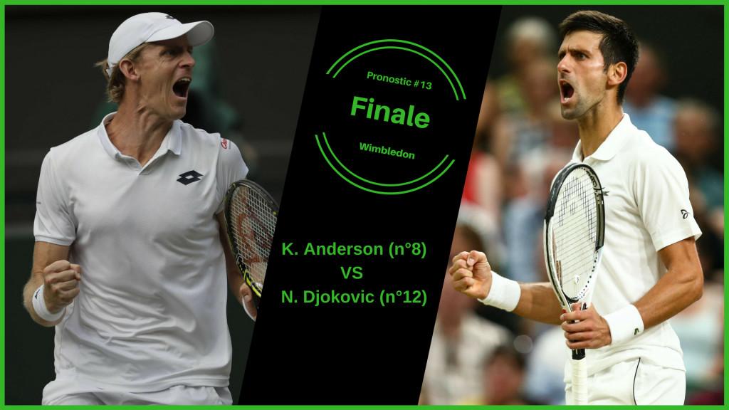 Wimbledon, le match du jour : Anderson-Djokovic