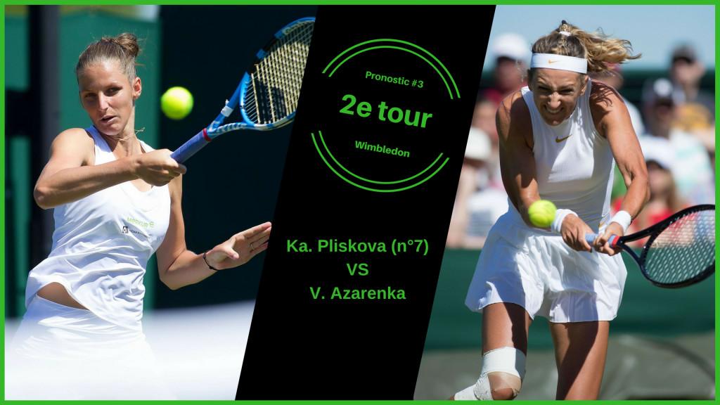 Wimbledon, le match du jour : Pliskova-Azarenka
