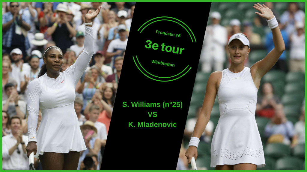Wimbledon, le match du jour : S. Williams-Mladenovic