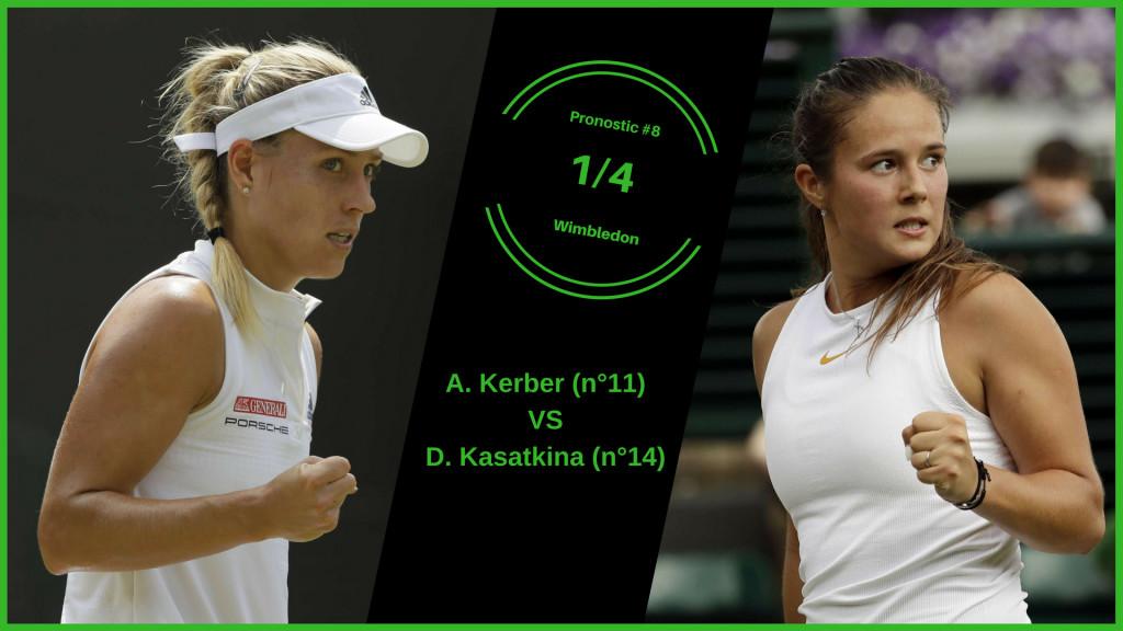 Wimbledon, le match du jour : Kerber-Kasatkina