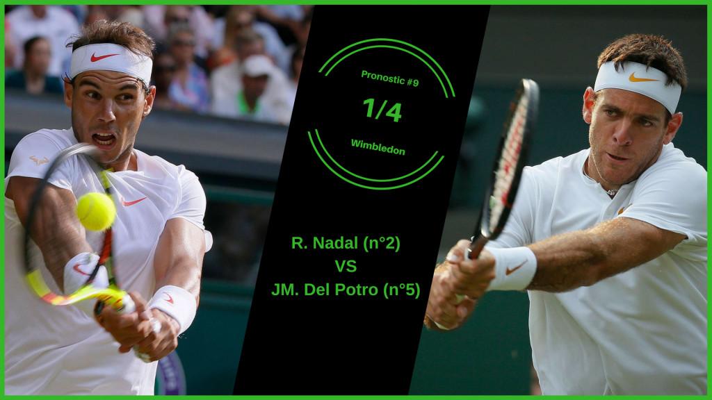 Wimbledon, le match du jour : Nadal-Del Potro
