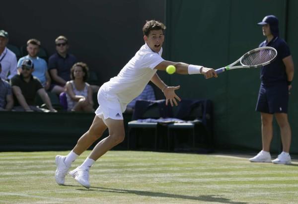 Entre Roland-Garros et Wimbledon, seulement trois semaines de délai et un monde de différence. N'est-ce pas Dominic Thiem ?