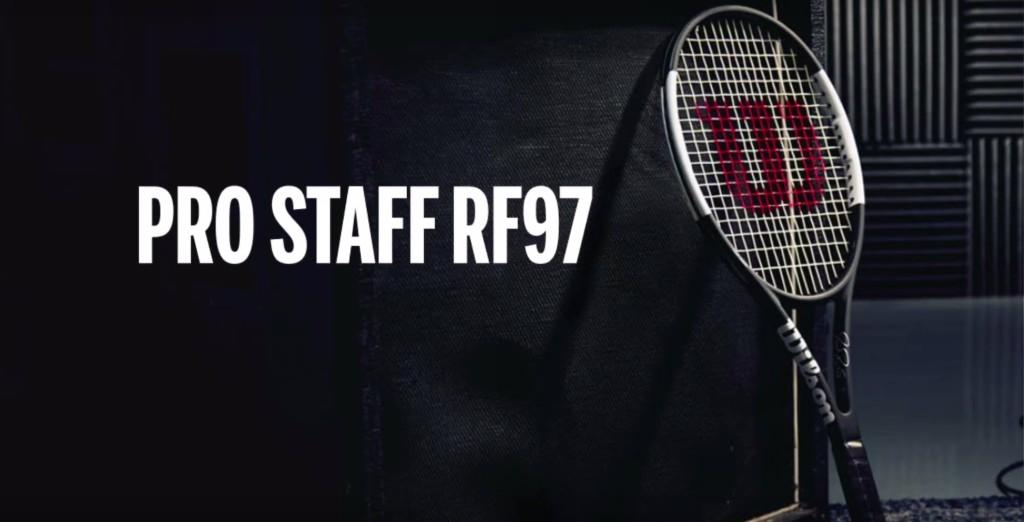 Roger Federer et sa nouvelle Pro Staff RF97