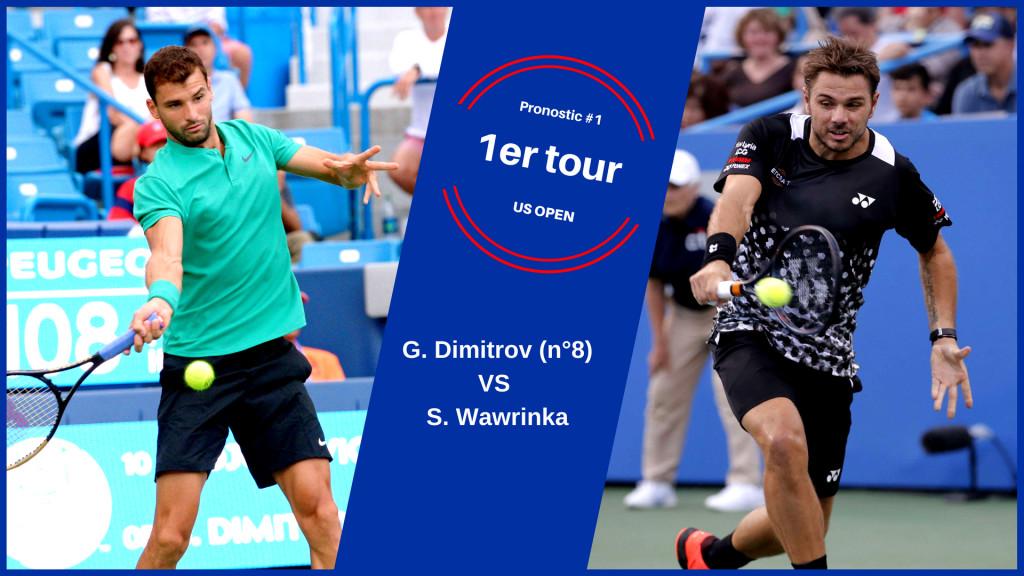 US Open, le match du jour : Dimitrov-Wawrinka