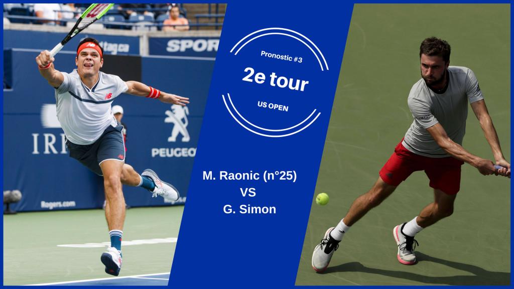 US Open, le match du jour : Raonic-Simon