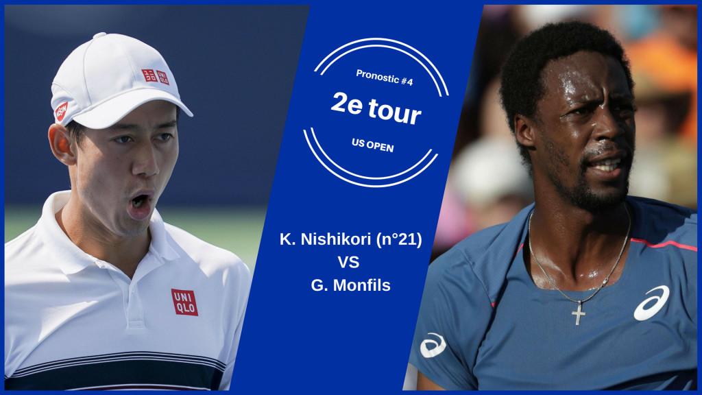 US Open, le match du jour : Nishikori-Monfils