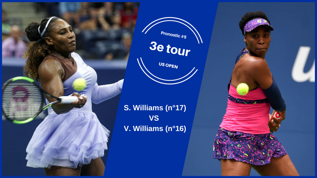 US Open, le match du jour : S. Williams – V. Williams