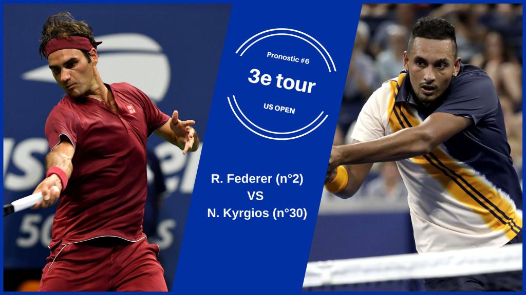 US Open, le match du jour : Federer-Kyrgios