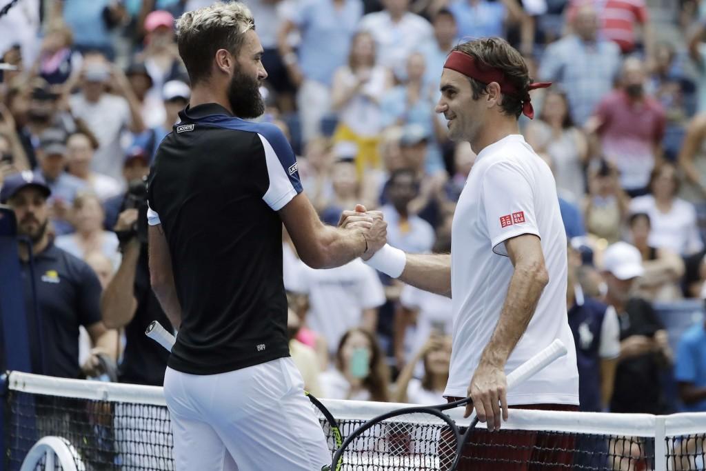 US Open (Day 4) : Ciao Bennet, la tuile Monfils
