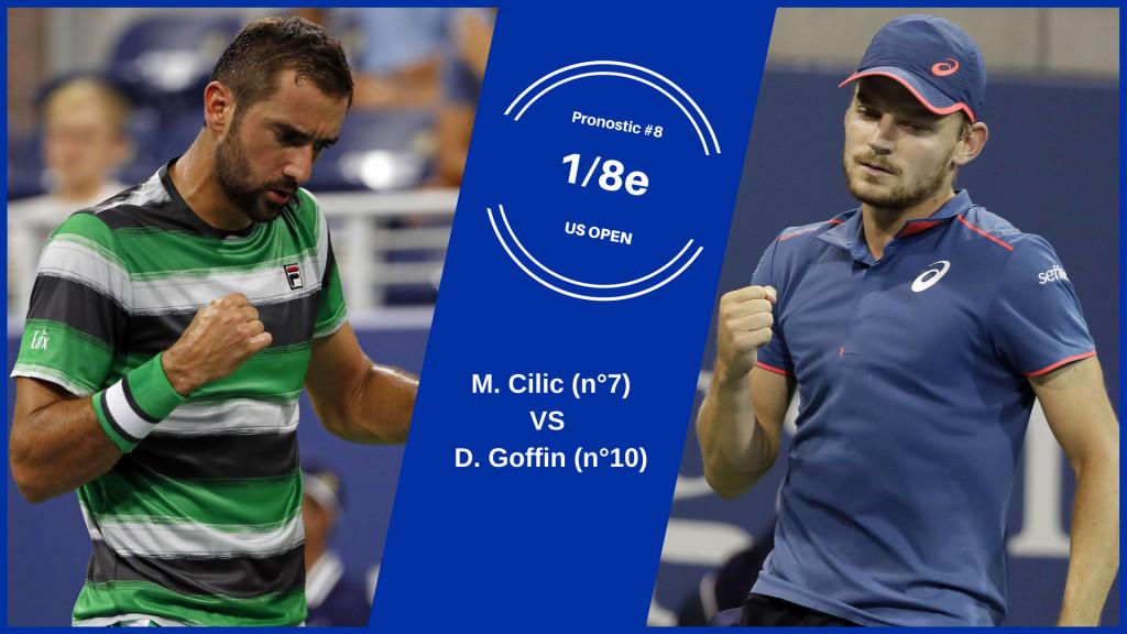US Open, le match du jour : Cilic-Goffin