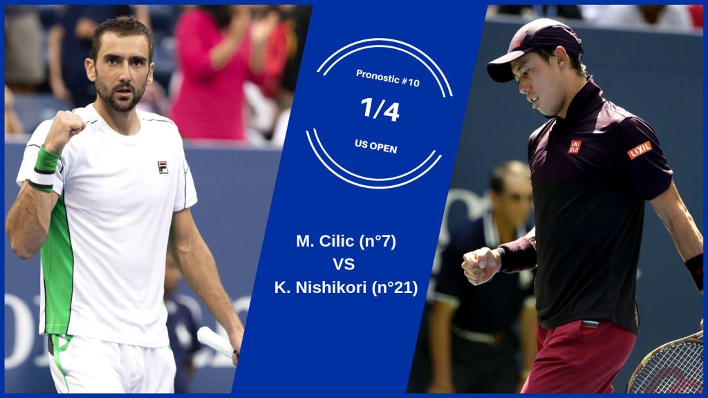 US Open, le match du jour : Cilic-Nishikori
