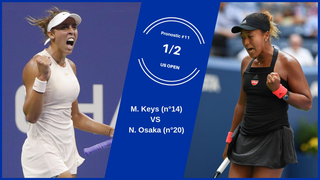 US Open, le match du jour : Keys-Osaka