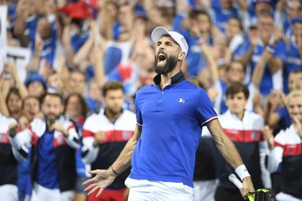 Villeneuve d'Ascq : Davis cup semi finale - France / Espagne.