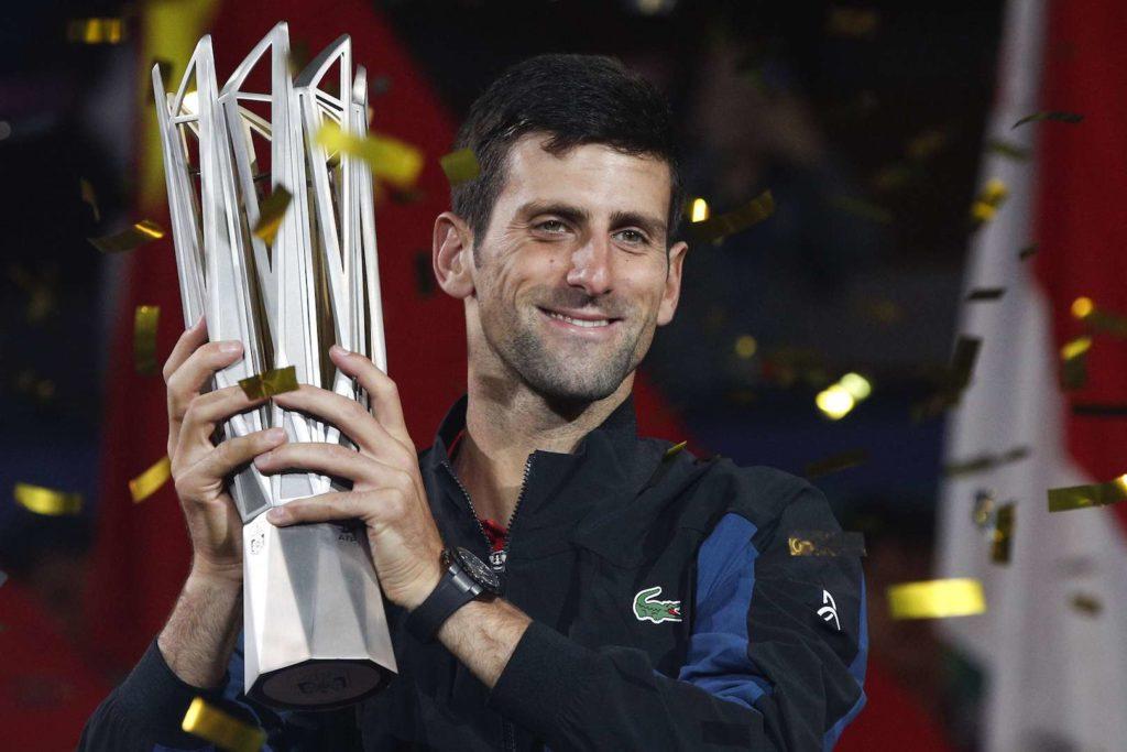 Le sacre de Djokovic à Shanghai vaut cher parce que…