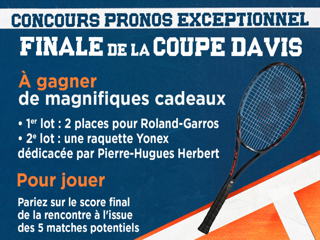 Finale de la Coupe Davis : France-Croatie