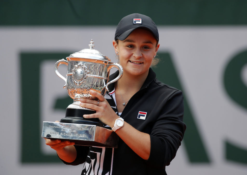 Ashleigh Barty, joueuse majeure