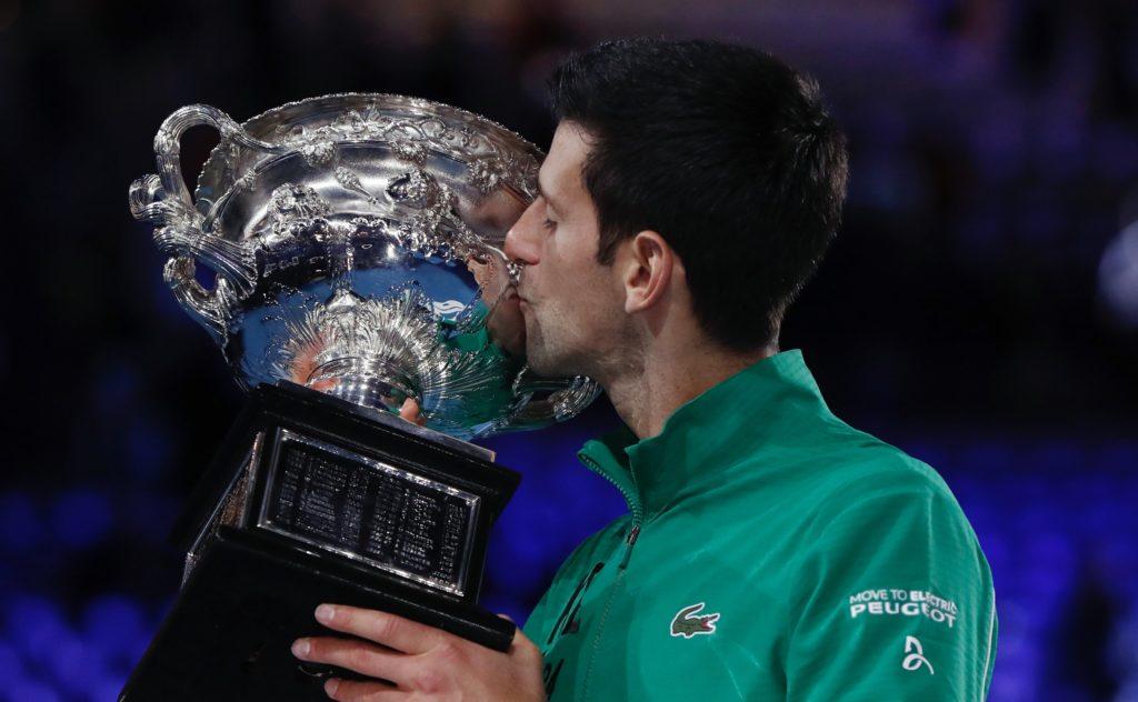 Open d'Australie 2020 : 17e titre du Grand Chelem pour Djokovic, le 8e en Australie