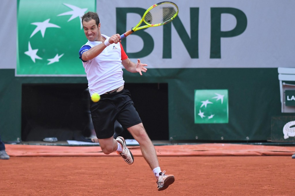 Photos : Gasquet en relâchement total !