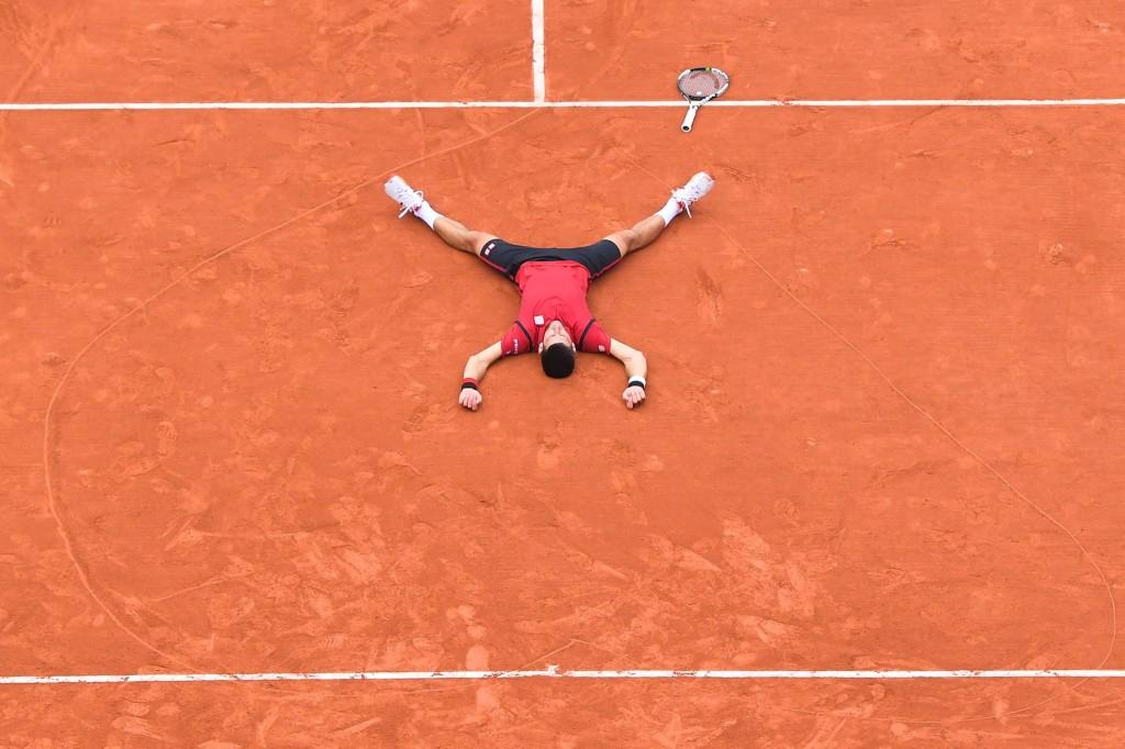 Photos : Une finale de Roland-Garros à se rouler par terre