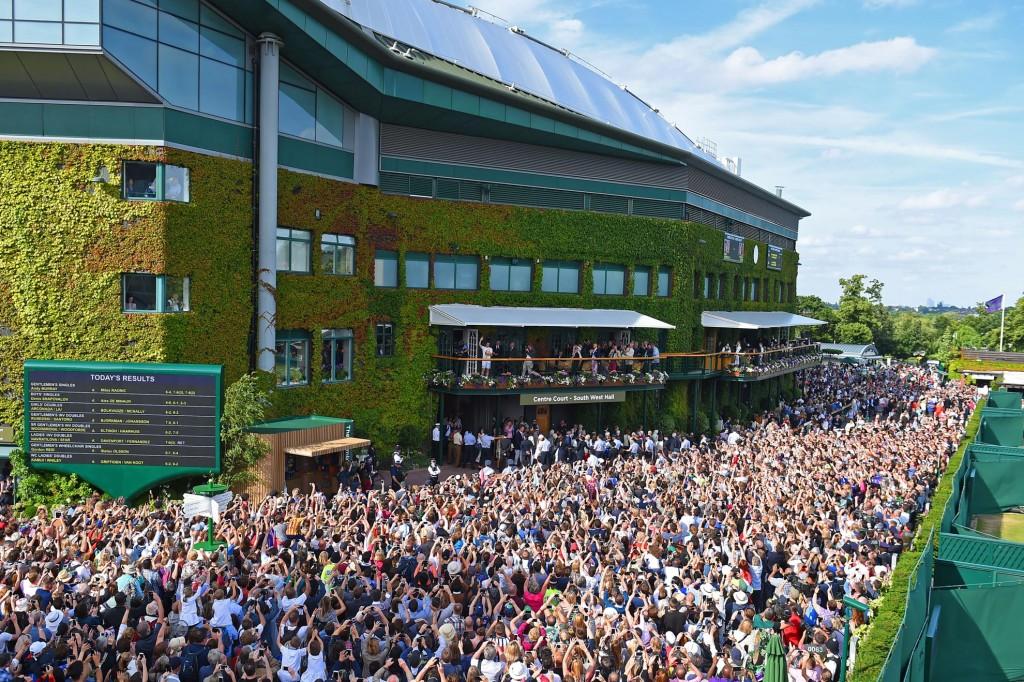 Wimbledon : les photos d'une finale à sens unique