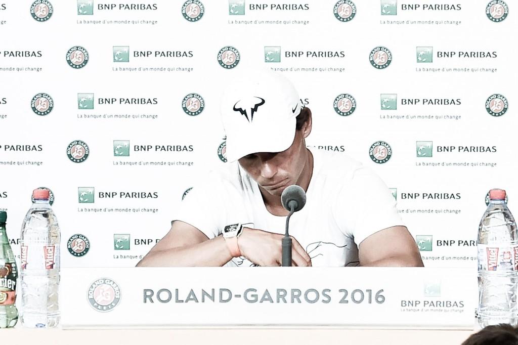 Photos : Rafa forfait, gros coup de spleen sur Roland-Garros