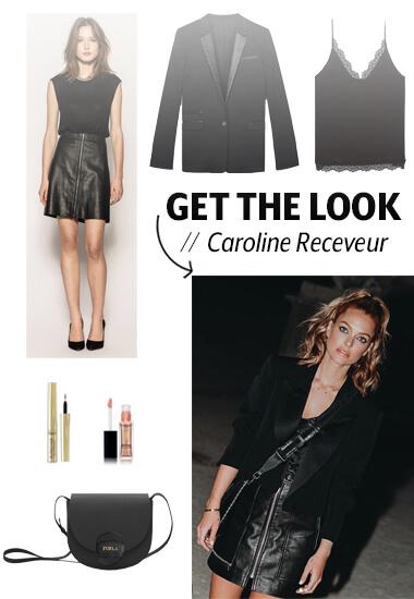 """Get the look"" pour la Fashion Week"
