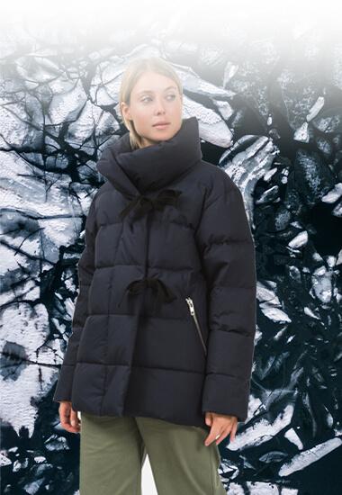 Vague de froid sur The Village : la doudoune