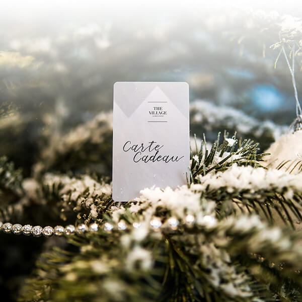 Gift card of The Village