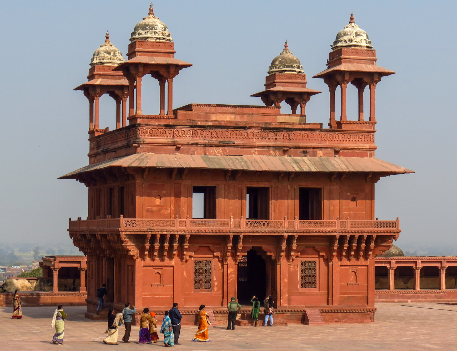 Jour 11: Jaipur – Agra – La capitale Moghol d'Akbar et son Panch Mahal (270Km/ 6h)