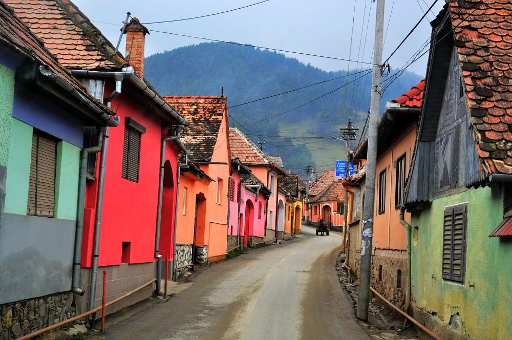 SIGHISOARA > SALISTE – Les villages de Transylvanie