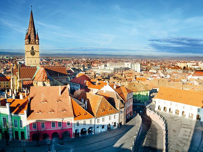 SALISTE – Sibiu, bijou de l'architecture saxonne