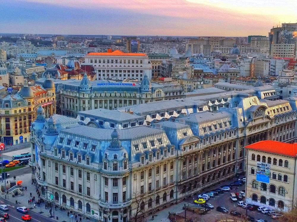 Première soirée à Bucarest