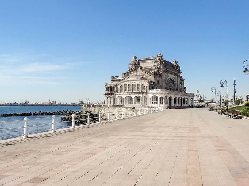 BUCAREST > CONSTANTA – Le littoral de la mer Noire