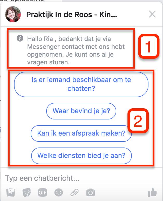 Facebook Messenger Facebook Pagina