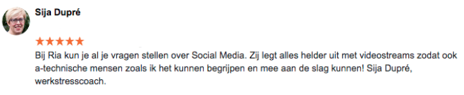 Review Online Marketing Succes Sija