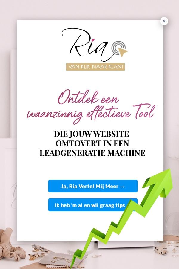 Convertbox - website omtoveren in een leadgeneratie machine