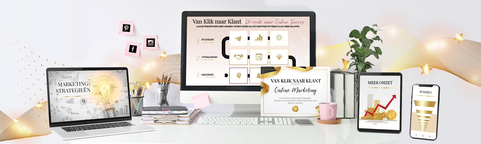 Van Klik naar Klant - Online Marketing Membership