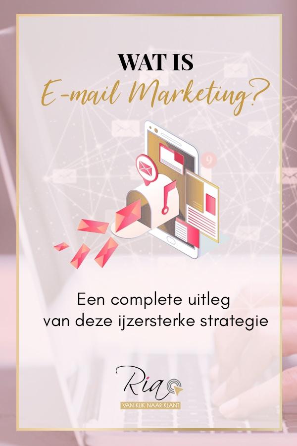 pinterest wat is emailmarketing? Een complete uitleg van deze ijzersterke strategie