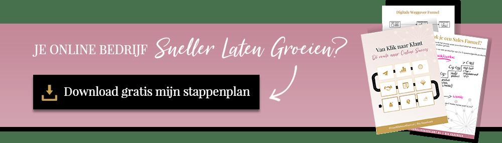 Online Marketing Stappenplan
