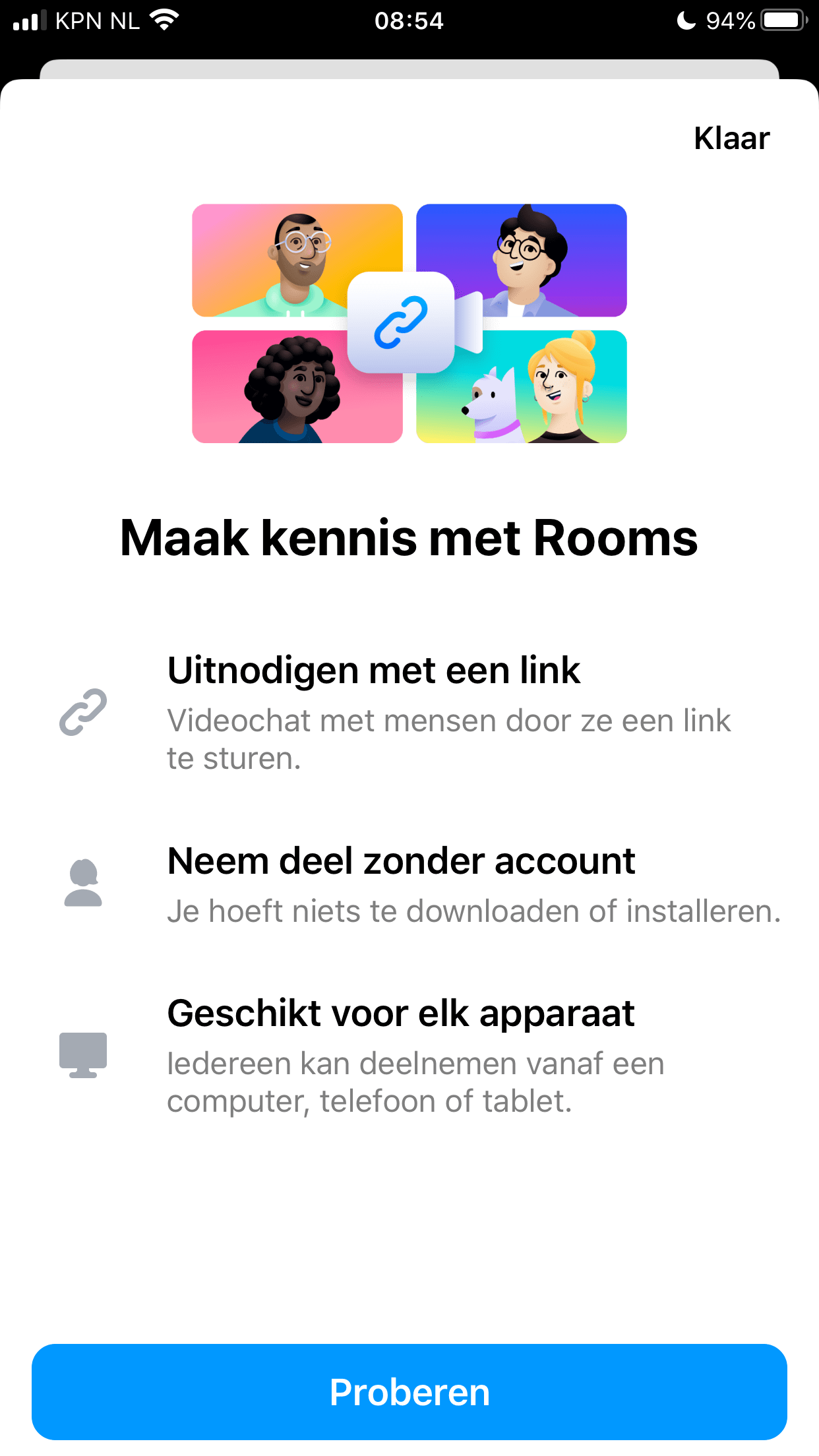 Facebook Messenger Rooms - maak kennis met rooms