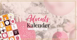 Gratis (digitale) adventskalender boordevol inspiratie en waardevolle online marketing tips