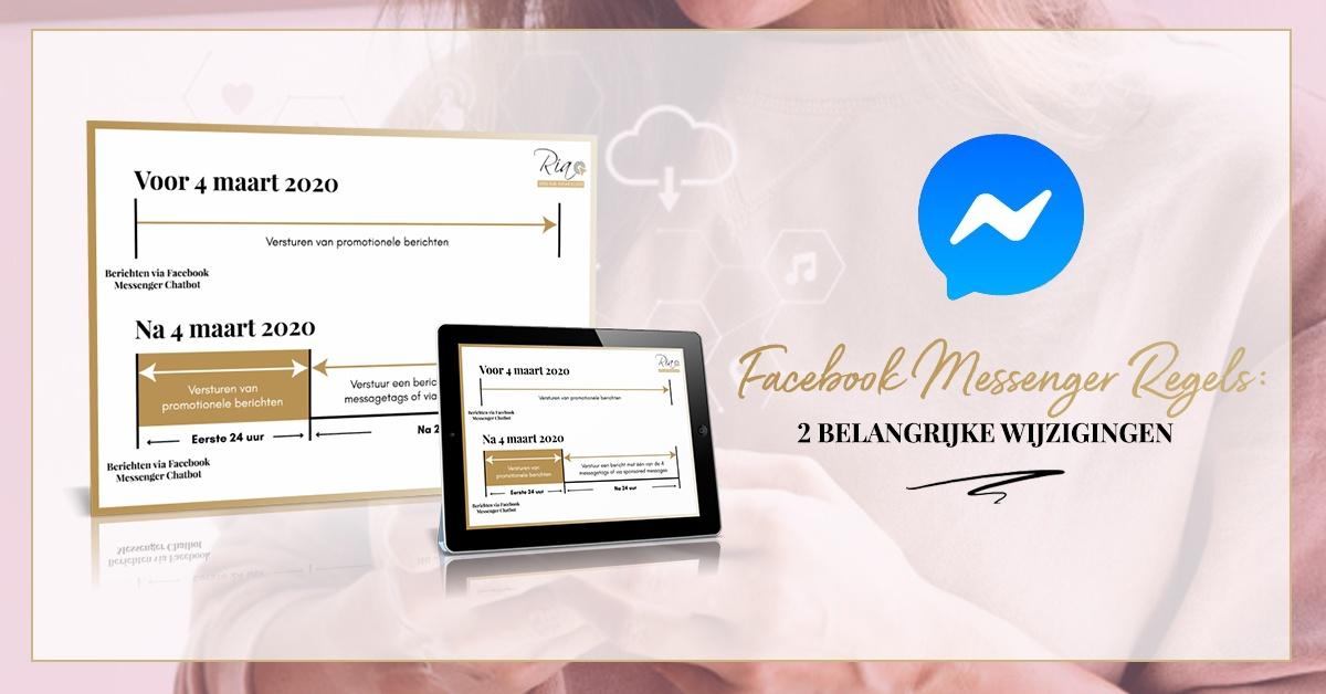 Facebook Messenger 2 belangijke wijzigingen