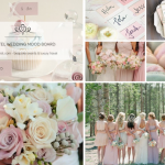 Week wedding mood board