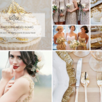 Gold Wedding Mood Board