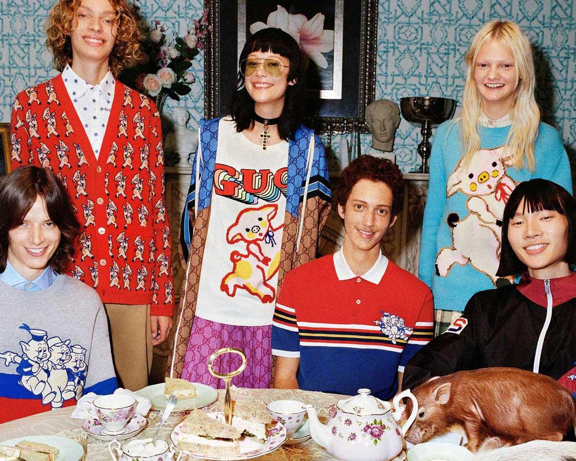 30327a53a La famosa casa de lujo italiana quiere que celebres el nuevo año chino con  una colección muy animal.