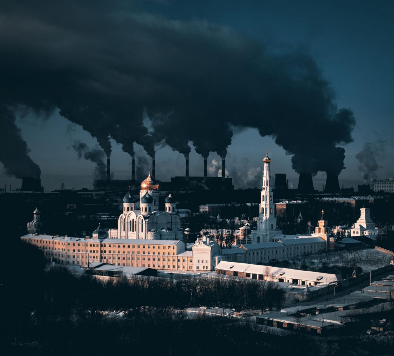 Fotos dron cambio climático