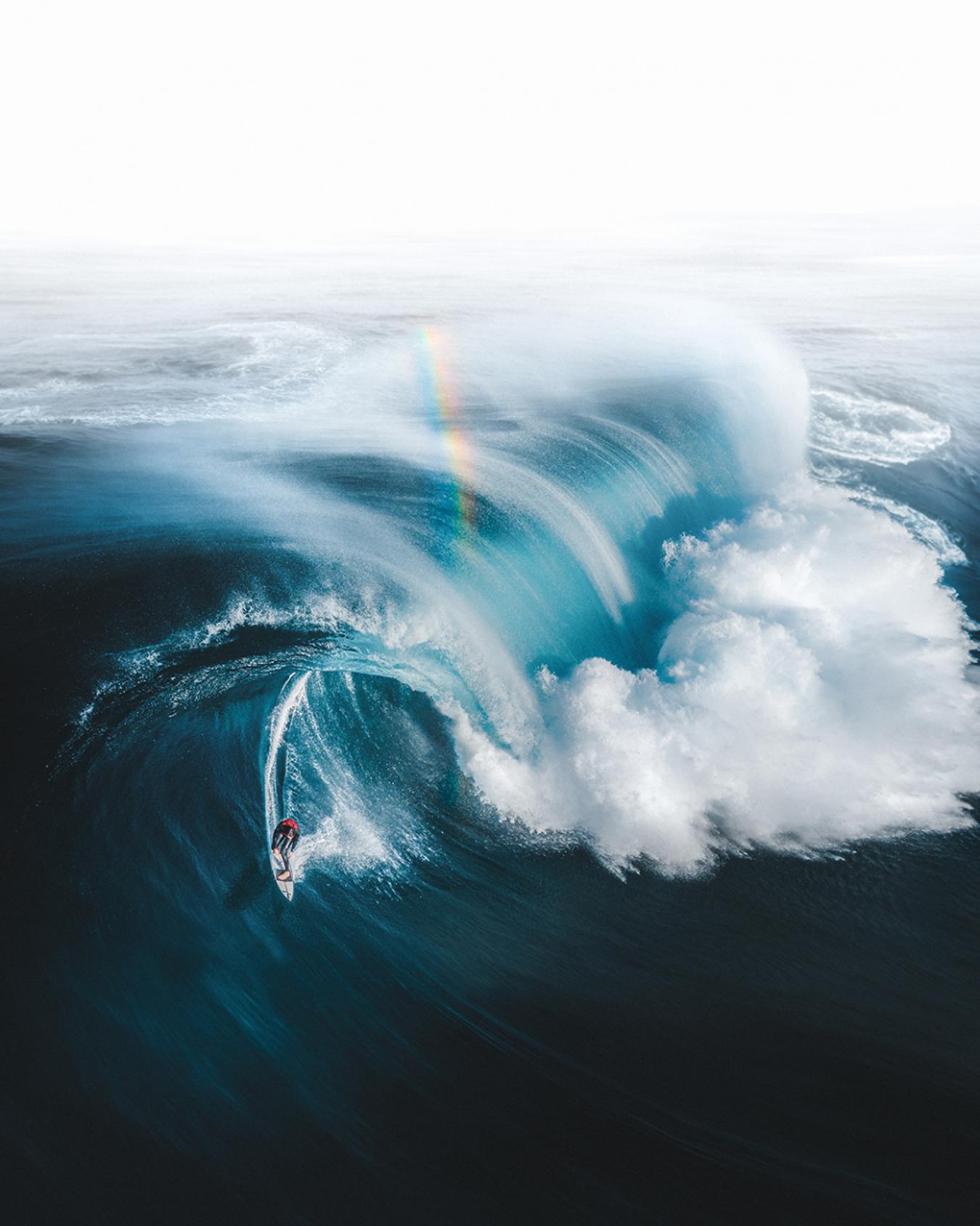 Fotos dron surf