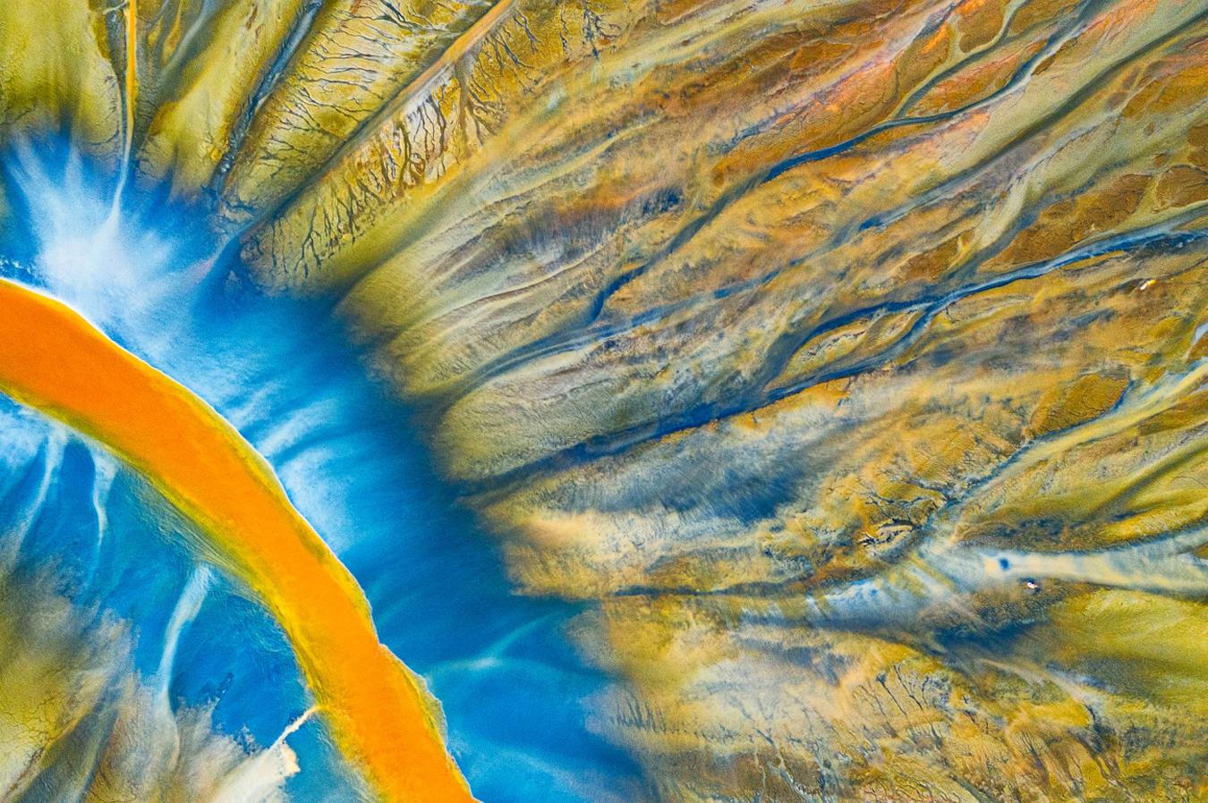 Fotos dron abstracta