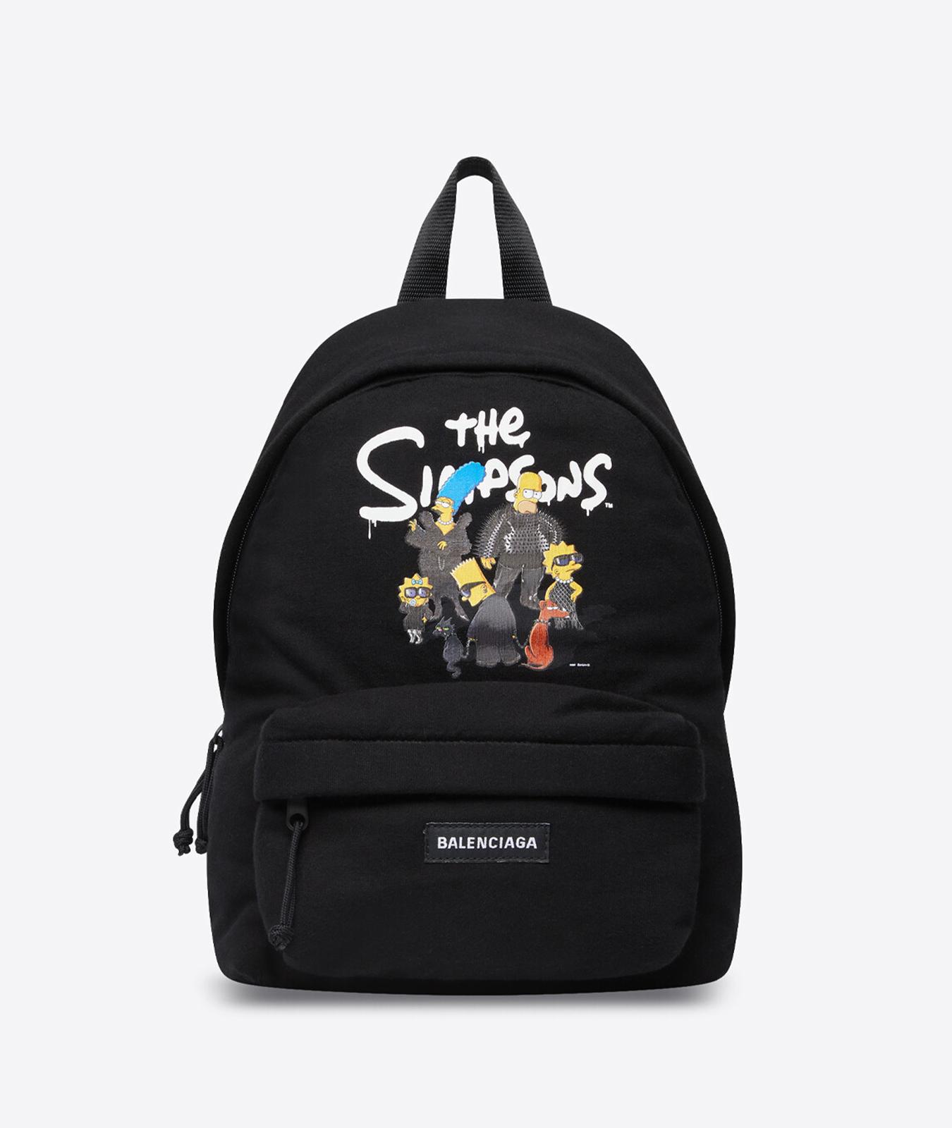 Mochila de Balenciaga x Los Simpson