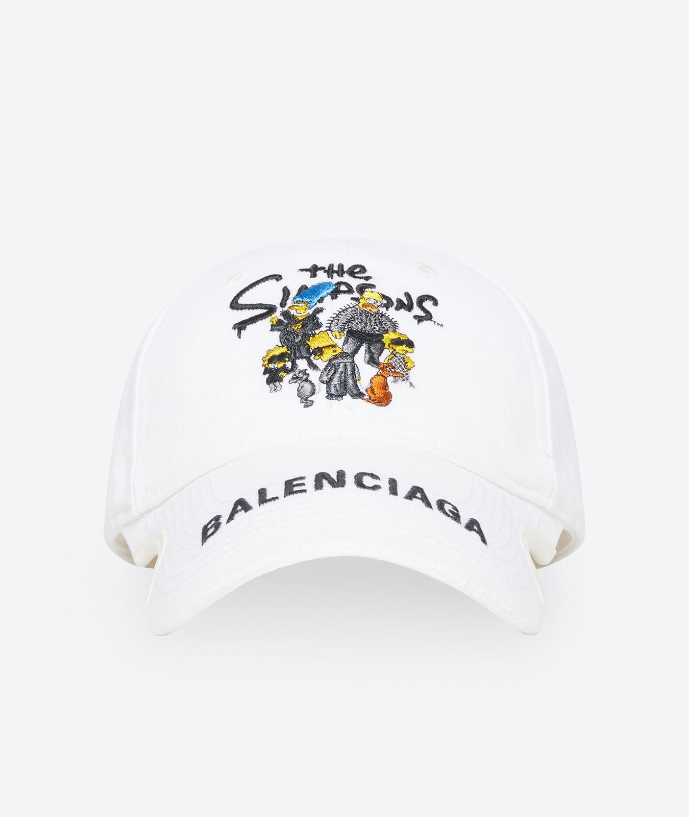 Gorra de Balenciaga x Los Simpson